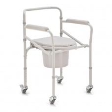Кресло-коляска с санитарным оснащением H 023B