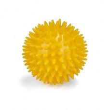 Массажный мяч 8 см L0108 желтый
